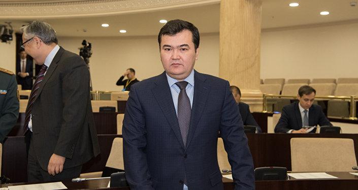 Министр по инвестициям и развитию РК Женис Касымбек