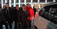 Дмитрий Медведев вручил призерам ОИ-2018 ключи от автомобилей BMW