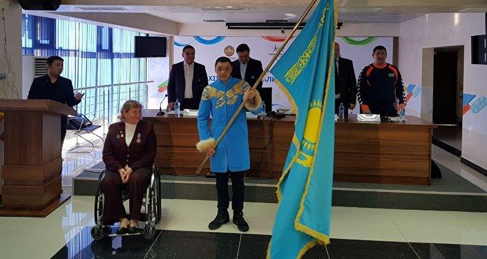"Кайрат Канафин станет флагоносцем на XII зимних паралимпийских играх ""PyeongChang2018"""