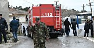 Во втором корпусе Республиканского наркологического диспансера в Баку произошел пожар