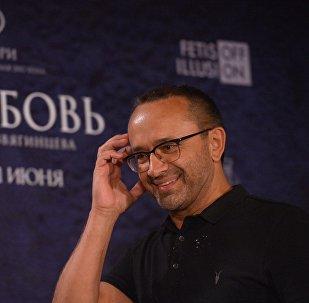 Режиссер Андрей Звягинцев на пресс-конференции фильма Нелюбовь, архивное фото