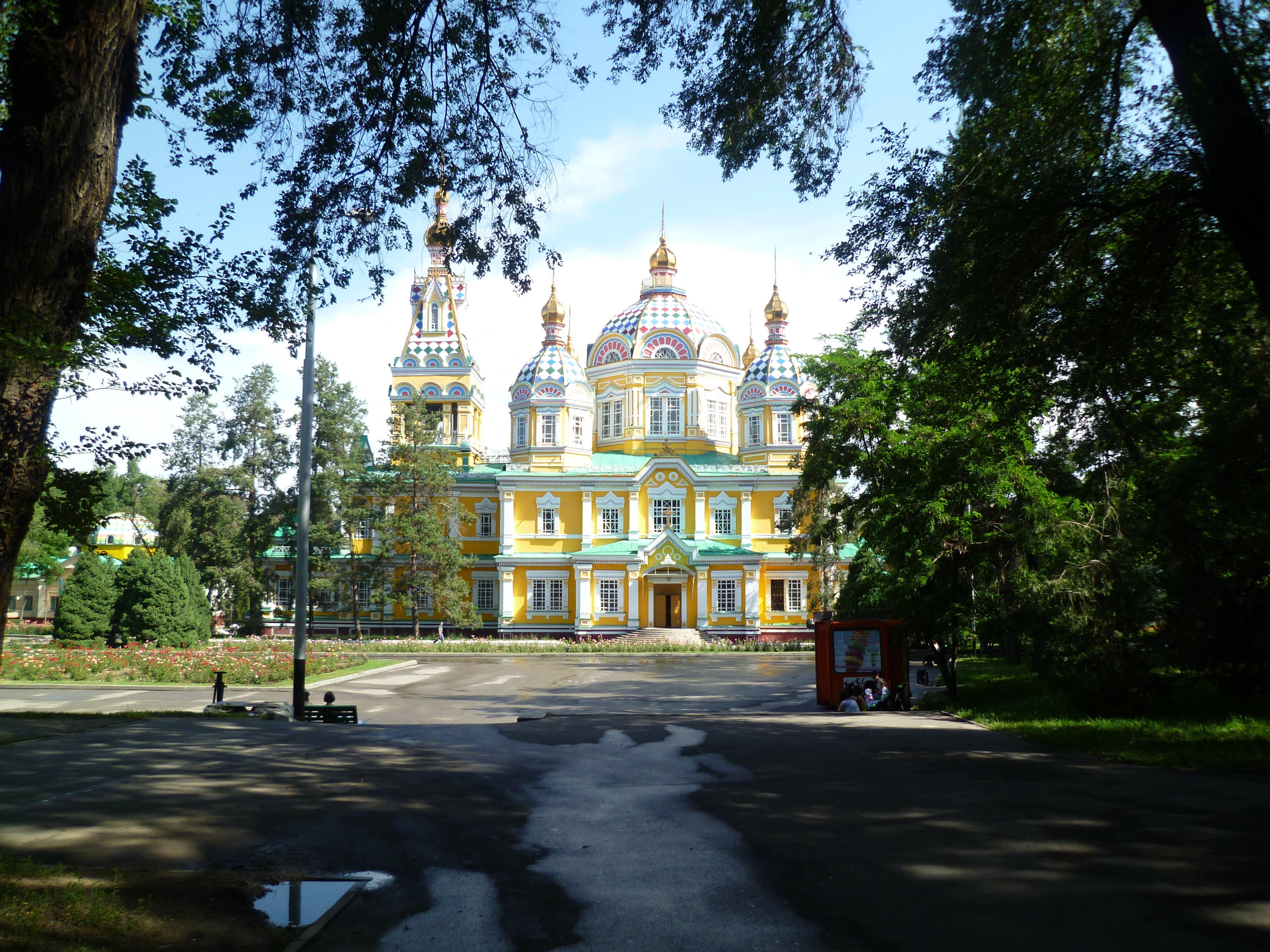 Свято-Вознесенский кафедральный собор. В советский период там был музей. В нем работал Ю. Домбровский