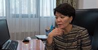 ҚР еңбек және халықты әлеуметтік қорғау вице-министрі Светлана Жақыпова