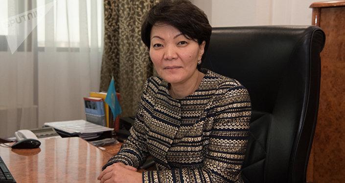 Вице-министр труда и социальной защиты населения Светлана Жакупова