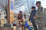 Военнослужащие почтили память капитана Кайрата Кудабаева, погибшего во время миротворческой миссии в Ираке