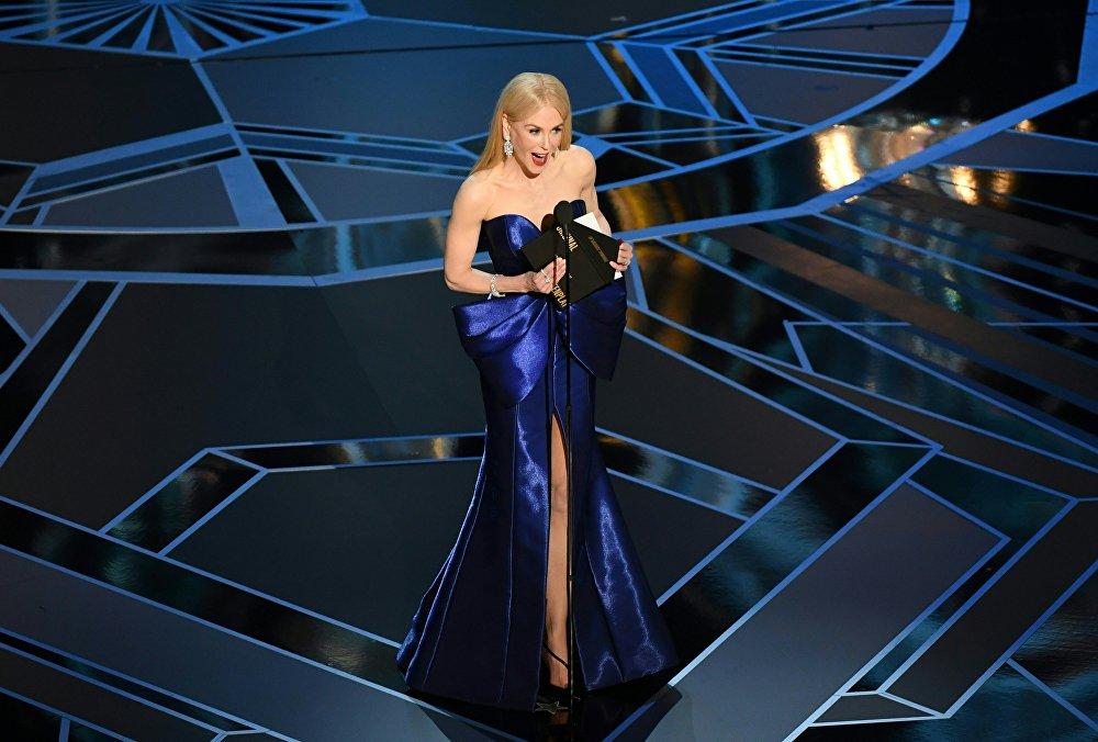 Николь Кидман на премии Оскар