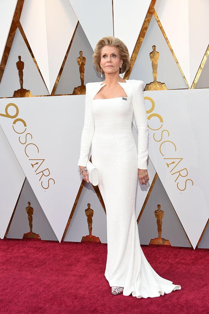 Джейн Фонда на Оскар-2018