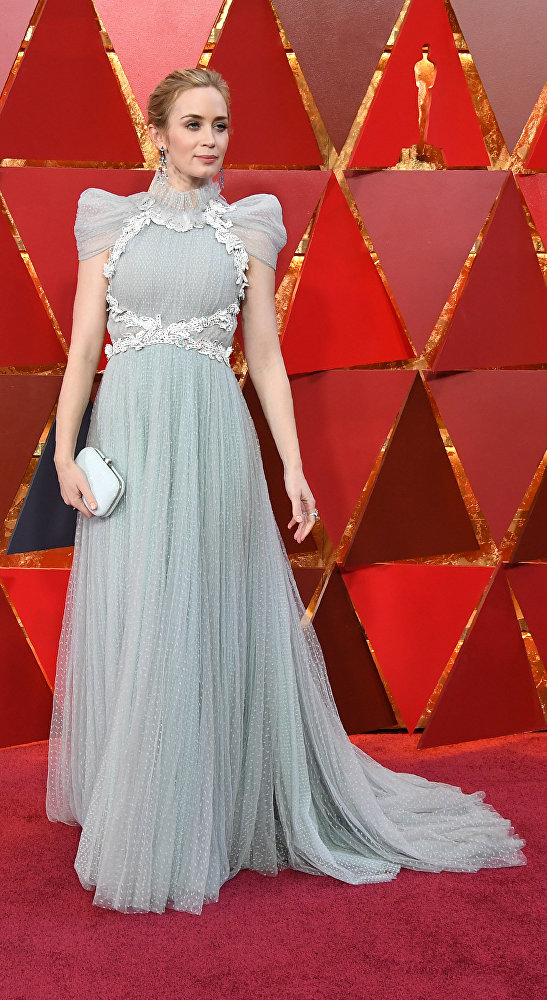 Эмили Блант на Оскар-2018