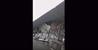 Ветер сдул крышу с терминала аэропорта в Китае