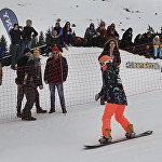 Соревнования на Шымбулаке