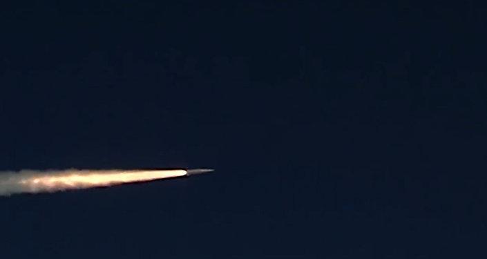 Учебно-боевой пуск ракетного комплекса Кинжал