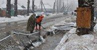Последствия подтоплений устраняют в Восточном Казахстане