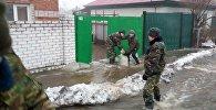 В ВКО затопило несколько жилых домов