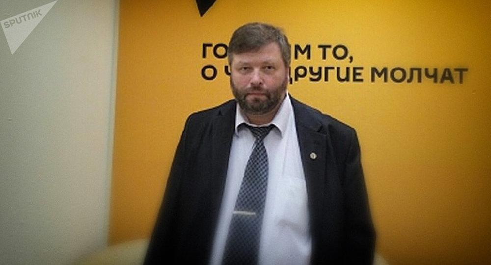 Заместитель директора института океанологии им. Ширшова РАН Петр Завьялов