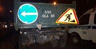 Столкновение легковушки с грузовиком