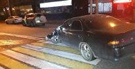 Toyota Mark II столкнулась с Toyota RAV 4 в Алматы