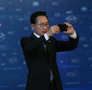 Экс-президент Республики Корея Ли Мен Бак