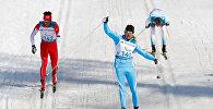 Лыжник Александр Колядин
