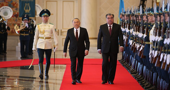 Визит Эмомали Рахмона в Казахстан