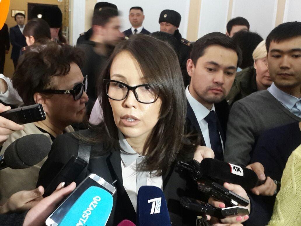 Назым Бишимбаева - супруга Куандыка Бишимбаева