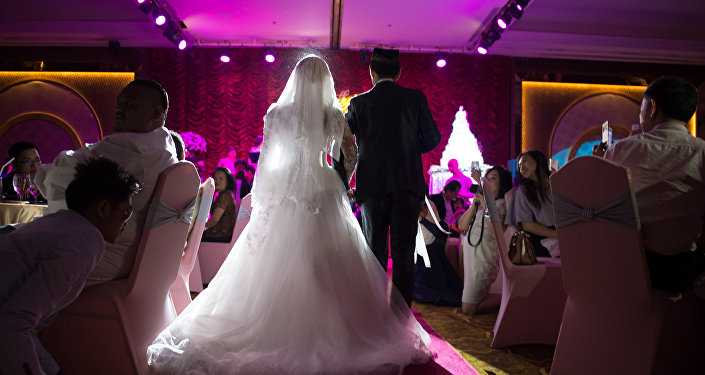 Мусульманская свадьба, иллюстративное фото
