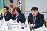 Председатель КУИС Азамат Базылбеков