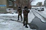 Пожарные Усть-Каменогорска расчищают арыки
