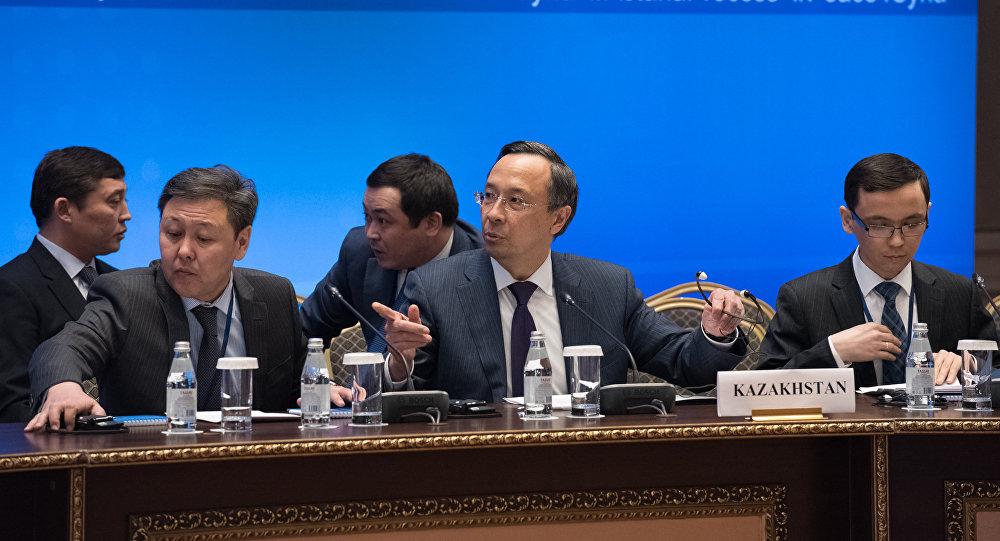 Встреча министров иностранных дел стран-гарантов перемирия в Сирии, архивное фото