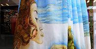 Выставка четырехметровых платьев казахстанских дизайнеров