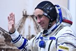 Космонавт Антон Шкаплеров, архивное фото