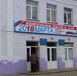 Избирательный участок №8130 в городском доме культуры в Петропавловске