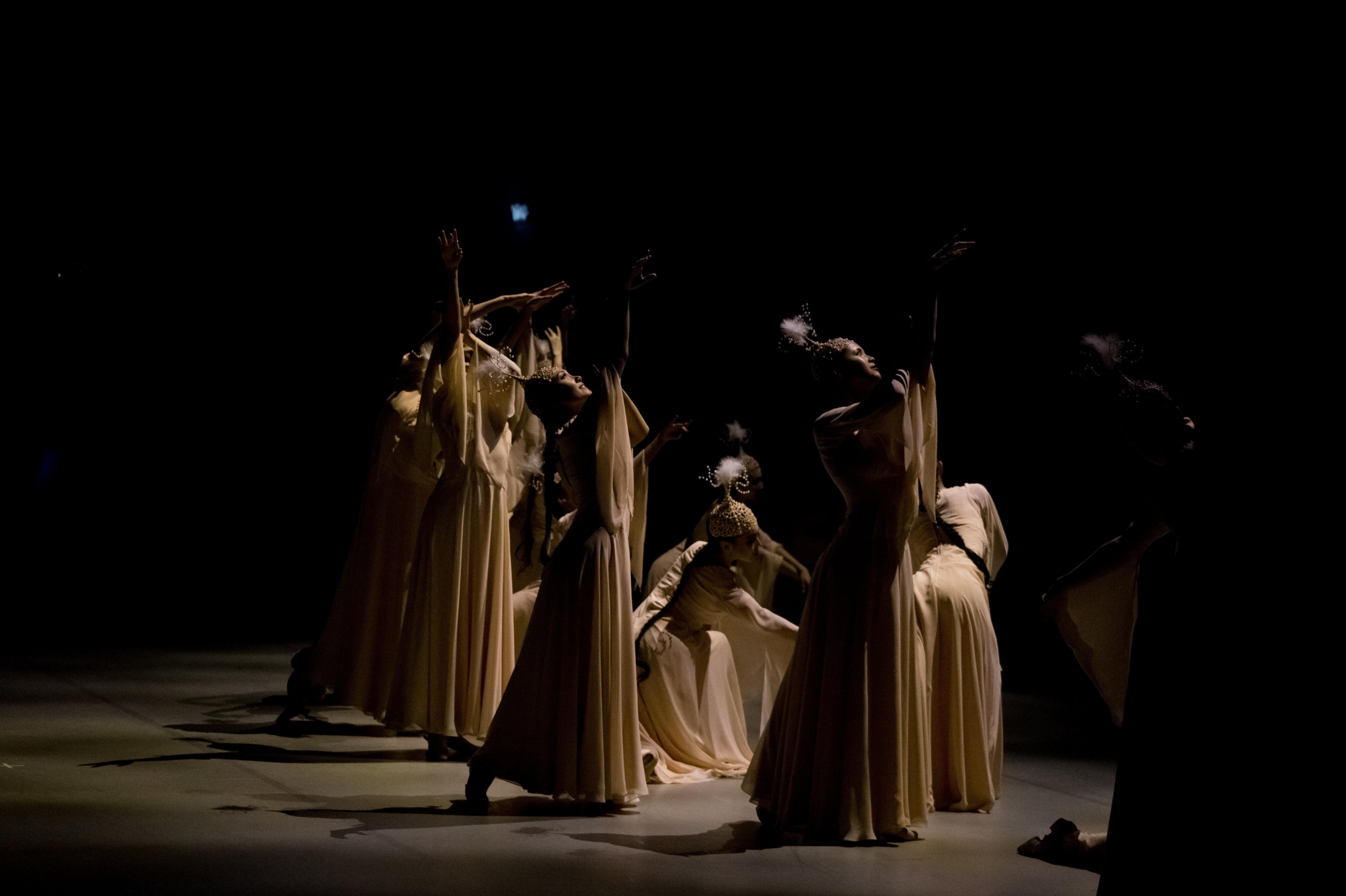 Одноактный балет современного хореографа Мукарам Авахри Жусан