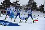 Открытие базы нового республиканского лыжного комплекса в Щучинске