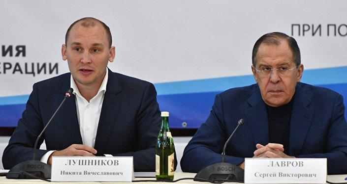 Председатель правления НАС (Национального Антинаркотического Союза) Никита Лушников