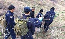 Спасатели Южно-Казахстанской области спасли в горах парня и девушку
