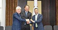 На Байконуре прошли переговоры Казахстана, России и ОАЭ о сотрудничестве в космической сфере