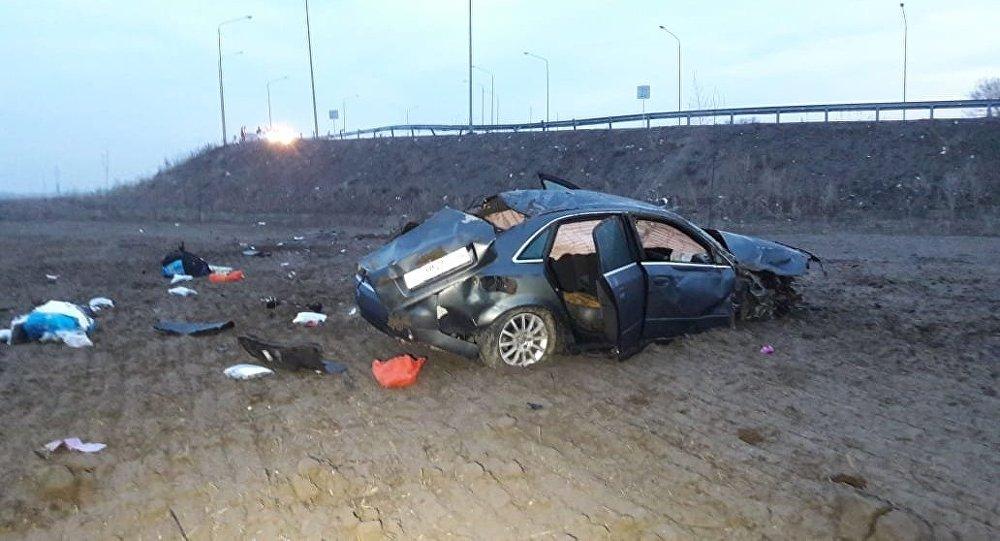 Қапшағай трассасында болған жол апатынан бір адам қаза тапты