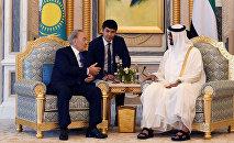 Официальный визит Нурсултана Назарбаева в ОАЭ