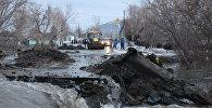 Подтопления в Восточно-Казахстанской области