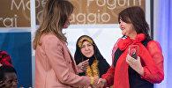 Меланья Трамп вручила награду казахстанской правозащитнице Айман Умаровой