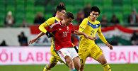 Футбольный матч Казахстан-Венгрия