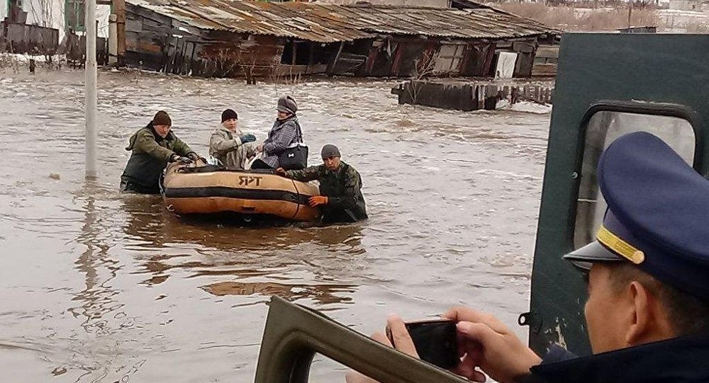 Эвакуация жителей в Шемонаихинском районе ВКО
