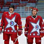 Ресей президенті Владимир Путин мен Беларусь президенті Александр Лукашенко