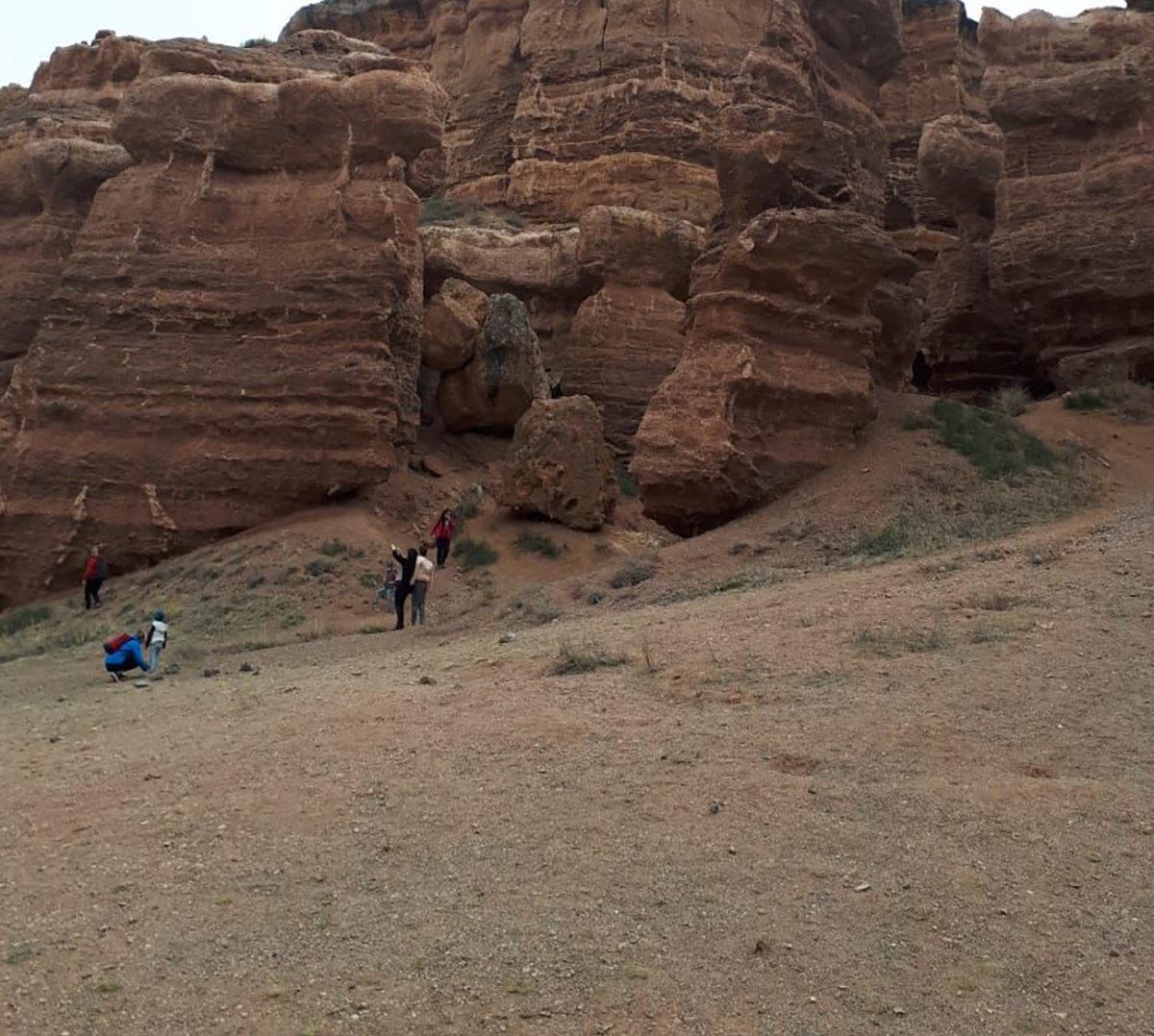 Чарынский каньон китайские блогеры сравнили с американским Колорадо