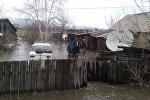 Подтопления в в селе Верх-Уба, Шемонаихинский район ВКО