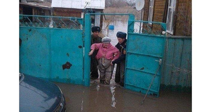 Эвакуация людей