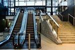 Эскалатор в торговом центре