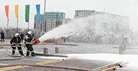 Алматы сауда орталығына келушілер шұғыл түрде ғимараттан шығарылды
