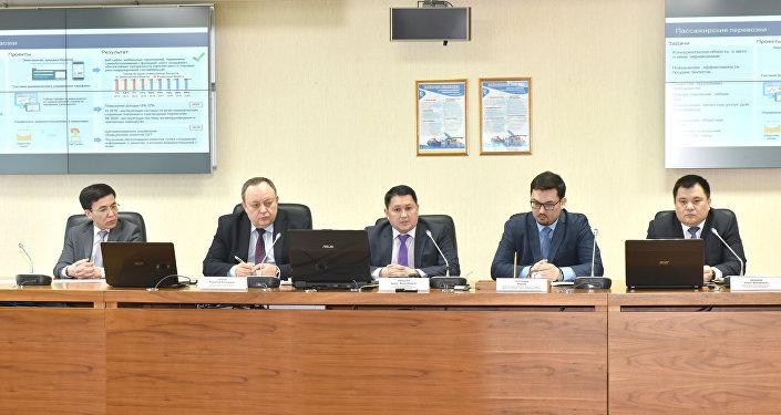В АО НК ҚТЖ состоялся брифинг по вопросам реализации госпрограммы Цифровой Казахстан