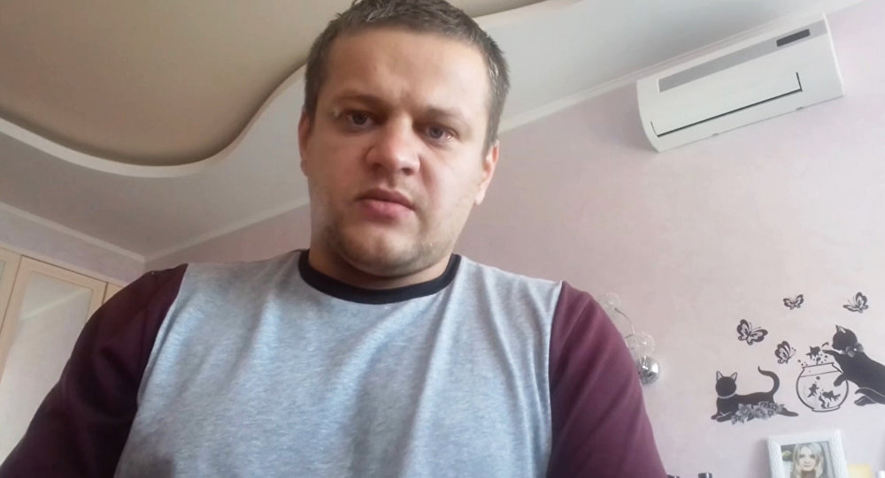Житель Кемерово Игорь Востриков, потерявший в пожаре всю семью